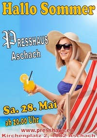 Hallo Sommer im Presshaus Aschach