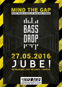 MIND THE GAP w/ JUBEI (Metalheadz / Exit Records / Critical Music - UK)@Club Auslage