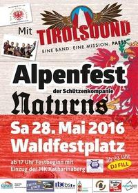 Alpenfest der Schützenkompanie Naturns mit TirolSound@Naturns