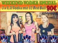 Vodka im Überfluss@1 EURO BAR