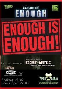 JCGE - Enough IS Enough!