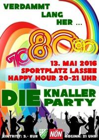 DIE KNALLER PARTY@Sportplatz Lassee (Loimersdorferstraße 1, 2291 Lassee)