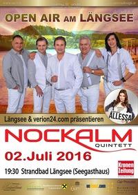 Nockalm Quintett Open Air am Längsee@Wiese beim Seegasthaus Längsee