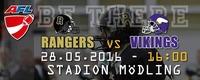 AFC Rangers - Vienna Vikings@Stadion Mödling