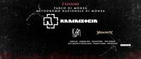 Bus/pullman ab/da Meran/o zu/x Rammstein, Korn, Megadeth & Gamma Ray - gods of metal@Autodromo Nazionale Monza