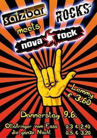 Salzbar Rocks meets Nova Rock@Salzbar