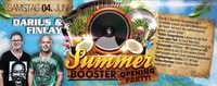 """summer Booster VOL.1"" – Opening Party!!! Special Guest: Darius & Finlay"