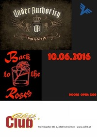 Under Authority + Back To The Roses@Cafeti Club
