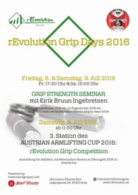 rEvolution Grip Days 2016@rEvolution Fitness