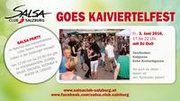 SALSA CLUB SALZBURG goes Kaiviertelfest@Tanzboden Krotachgasse