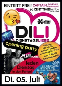 Dienstagsliebe Opening Party@Excalibur
