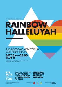 KIBBUTZ KLUB - RAINBOW HALLELUYAH