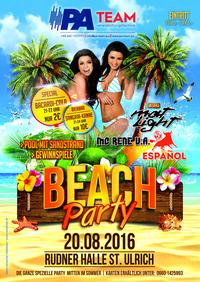 BEACH PARTY@Rudnerhalle St.Ulrich/GreitH