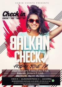 Balkan Check@Check in
