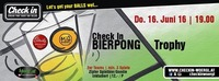 Check in Bierpong Trophy@Check in