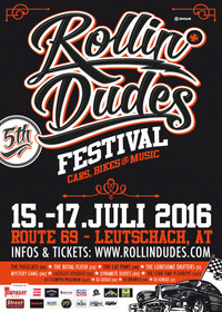 ROLLIN DUDES - US CAR, BIKE & ROCK´N´ROLL FESTIVAL