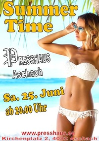 Summer Time im Presshaus Aschach