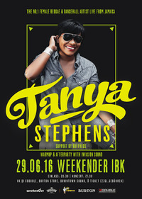 "TANYA STEPHENS, die ""Queen of Reggae & Dancehall Music"" Live in Innsbruck"