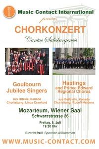 Chorkonzert im MOzarteum@Stiftung Mozarteum