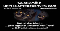 Sonntag! KA Schmäh! Heit is Afterparty im zoo!