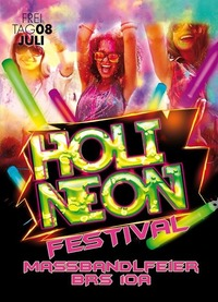 HOLI NEON Festival | Maßbandlfeier BRS Freilassing 10A@Johnnys - The Castle of Emotions