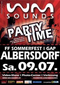 WM-SOUNDS PARTYTIME Albersdorf/Gleisdorf@GAP Albersdorf