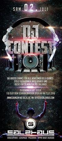 DJ & DJANE Contest@Salzhaus