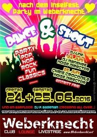 24.+25. Juni: DANCE & SHOUT@Weberknecht