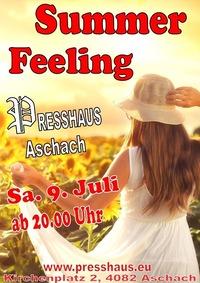 Summer Feeling im Presshaus Aschach