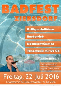 Badfest Ziersdorf 2016