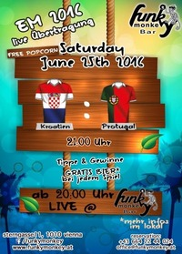 Funky Soccer Fever !!! Saturday June 25th 2016@Funky Monkey