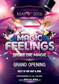 Magic-Feelings Notenschluss-Special@Escalera Club
