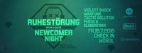 Ruhestörung – Newcomer Night by Schlagwerk@Check in