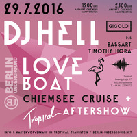 Chiemsee Cruise // Gigolo Loveboat + Tropical After // by Berlin Underground@MS Irmingard