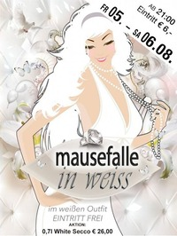 Mausefalle in WEISS