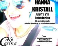 Hanna Kristall - LIVE / Café Carina, Vienna@Café Carina