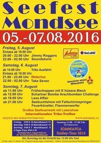 Seefest Mondsee 2016@Seefest Areal