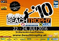 10. MeMed BeachTrophy presented by Quarzsande & Raiffeisen Club@Haslinger Erdbau BeachArena