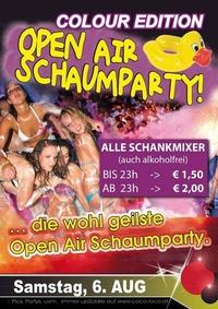 Open Air Schaumparty@Disco Coco Loco