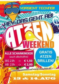 ATZEN Weekend@Disco Coco Loco