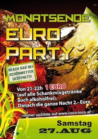 Monatsende Euro Party