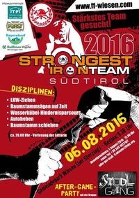 Strongest Ironteam Südtirol 2016@Wiesen /Pfitsch