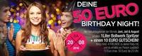 Deine 50€ Geburtstagsparty