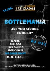 Bottlemania mit DJ One @Salzbar@Salzbar