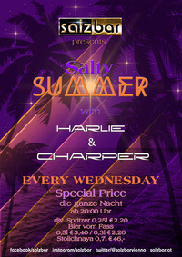 Salty Summer with Harlie&Charper @Salzbar@Salzbar