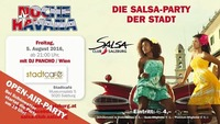 Noche Havana 5.8.2016 die Salsa Party der Stadt Salsa Club Salzburg@Stadtcafe Salzburg