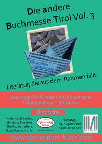 Die andere Buchmesse Tirol Vol. 3@Kinderhotel Buchau