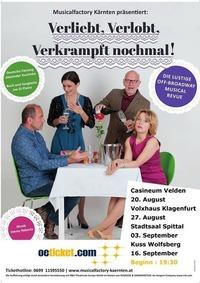 Musicalfactory Kärnten präsentiert: Verliebt, verlobt, verkrampft nochmal!@Volxhaus - Klagenfurt