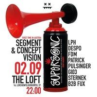 Supersonic w/ Segment & Concept Vision@The Loft