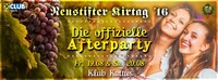 Die offizielle Neustifter Kirtag Afterparty
